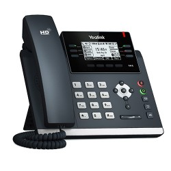 Yealink - SIP-T41S teléfono IP Negro Terminal con conexión por cable LCD 6 líneas
