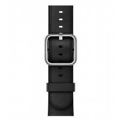Apple - Correa negra con hebilla clásica (38 mm)