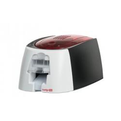 Evolis - Badgy 100 impresora de tarjeta plástica Pintar por sublimación/Transferencia térmica Color 260 x 300 DPI