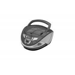 Brigmton - W-440-G Digital 4W Gris, Plata Radio CD