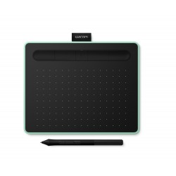 Wacom - Intuos S Bluetooth 2540líneas por pulgada 152 x 95mm USB/Bluetooth Verde, Negro tableta digitalizadora