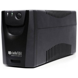 Riello - Net Power 800 sistema de alimentación ininterrumpida (UPS) 800 VA 4 salidas AC