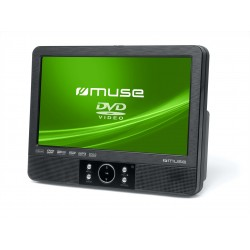 "Muse - M-920 CVB Montado en pared 9"" Negro reproductor de dvd/bluray portátiles"