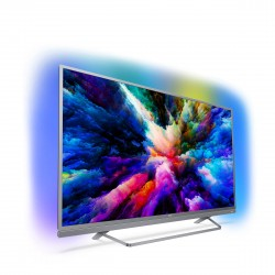 Philips - Android TV 4K LED Ultra HD ultraplano 55PUS7503/12