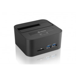 Sharkoon - QuickPort XT HC PRO USB 3.1 (3.1 Gen 2) Type-B Negro