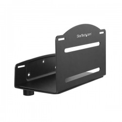 StarTech.com - Soporte Ajustable de CPU para Pared - Base Ajustable de Ordenador para Pared - Bracket de Montaje pa