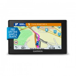 "Garmin - DriveSmart 51 LMT-S Fijo 5"" TFT Pantalla táctil 173.7g Negro navegador"