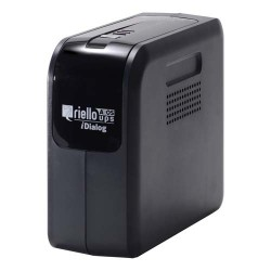Riello - iDialog 400 sistema de alimentación ininterrumpida (UPS) 400 VA 4 salidas AC