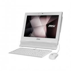 """MSI - Pro 16T 7M-002XEU 1.8GHz 3865U Intel® Celeron® 15.6"""" 1366 x 768Pixeles Pantalla táctil Blanco PC todo en uno"""