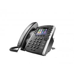 Polycom - VVX 411 teléfono IP Negro Terminal con conexión por cable TFT 12 líneas