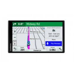 "Garmin - DriveSmart 61 LMT-S Fijo 6.95"" TFT Pantalla táctil 243g Negro navegador"