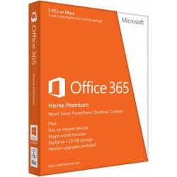 Microsoft - Office 365 Home Premium 1usuario(s) 1año(s) Español