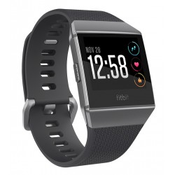 "Fitbit - Ionic 1.42"" LCD GPS (satélite) Negro, Grafito, Gris reloj inteligente"