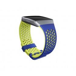 Fitbit - FB-164SBBUS Azul, Amarillo correa para control de actividad