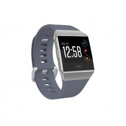 "Fitbit - Ionic 1.42"" LCD GPS (satélite) Gris, Plata reloj inteligente"