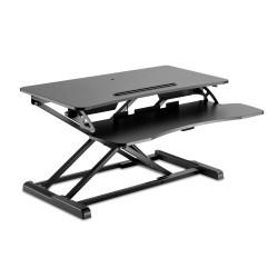 V7 - Estación de trabajo de escritorio para trabajar sentado o de pie Essential