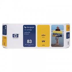 HP - Cartucho de tinta UV DesignJet 83 amarillo de 680 ml