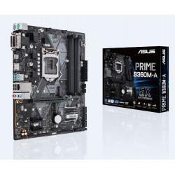 ASUS - PRIME B360M-A placa base LGA 1151 (Zócalo H4) Micro ATX Intel® B360