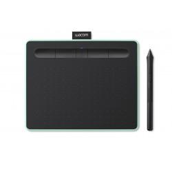 Wacom - Intuos M Bluetooth 2540líneas por pulgada 216 x 135mm USB/Bluetooth Negro, Verde tableta digitalizadora