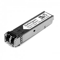 StarTech.com - Módulo SFP Compatible con Cisco GLC-SX-MM - Transceptor de Fibra Óptica 1000BASE-SX - SFPGLCSXMMST