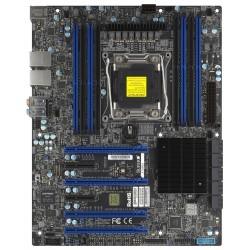 Supermicro - X10SRA Intel® C612 LGA 2011 (Socket R) ATX placa base para servidor y estación de trabajo