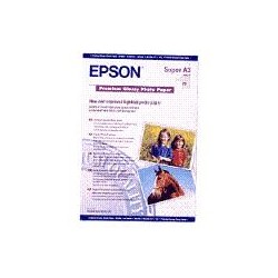 Epson - Premium Glossy Photo Paper, DIN A3+, 250 g/m², 20 hojas