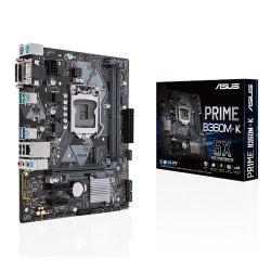 ASUS - PRIME B360M-K placa base LGA 1151 (Zócalo H4) Micro ATX Intel® B360