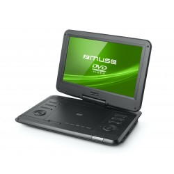 "Muse - M-1270 DP Portable DVD player Convertible 12"" Negro"