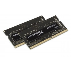 HyperX - Impact 16GB DDR4 2400MHz Kit módulo de memoria