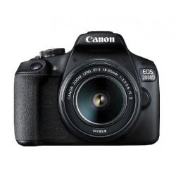 Canon - EOS 2000D BK 18-55 IS II EU26 Juego de cámara SLR 24,1 MP CMOS 6000 x 4000 Pixeles Negro