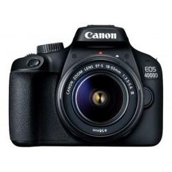 Canon - EOS 4000D Juego de cámara SLR 18 MP 5184 x 3456 Pixeles Negro
