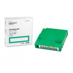 Hewlett Packard Enterprise - LTO-8 Ultrium 30TB RW Data Cartridge 12000 GB 1,27 cm