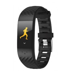 "Brigmton - BSPORT-16 Wristband activity tracker 0.96"" OLED Inalámbrico IP67 Negro"
