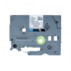 Brother - TZE-MQE31 Negro sobre rosa TZe cinta para impresora de etiquetas