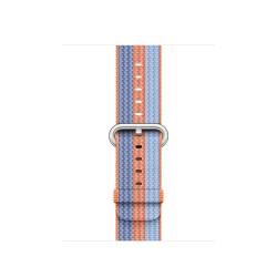 Apple - 3C846ZM/A Grupo de rock Naranja Nylon accesorio de relojes inteligentes