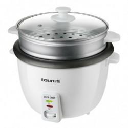 Taurus - RICE CHEF 1.8L 700W Gris, Blanco arrocera