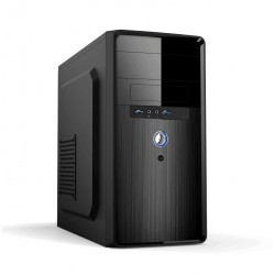 Differo - DFI374-01 3.9GHz i3-7100 Mini Tower 7ª generación de procesadores Intel® Core™ i3 Negro PC PCs/estación d