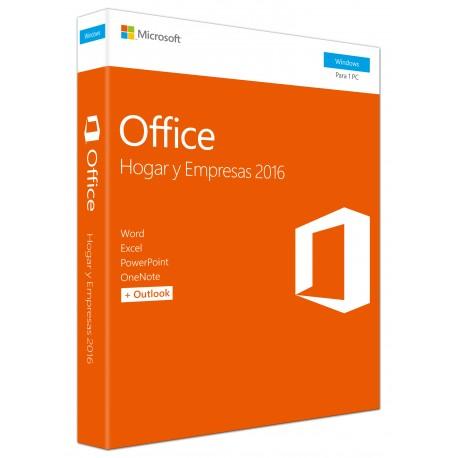 Microsoft - Office Hogar y Empresas 2016