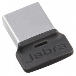 Jabra - LINK 370 UC USB 30m Negro, Plata transmisor de audio Bluetooth