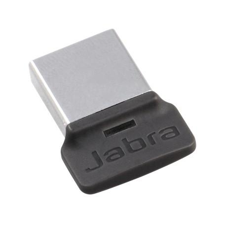 Transmisores de Audio Bluetooth Jabra Link 370 UC transmisor de Audio Bluetooth USB 30 m Negro USB, A2DP, 30 m, Negro, Plata, Evolve 75 Speak 710 Plata