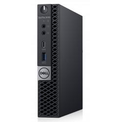 DELL - OptiPlex 5060 2,1 GHz 8ª generación de procesadores Intel® Core™ i5 i5-8500T Negro MFF Mini PC