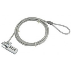 Gembird - LK-CL-01 cable antirrobo Plata