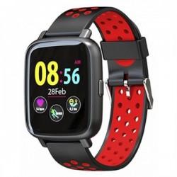 Billow - XS35x Pantalla táctil Bluetooth Negro, Rojo reloj deportivo