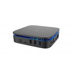 Billow - XMINI PCs/estación de trabajo Intel® Celeron® J3355 4 GB DDR3-SDRAM 64 GB mini PC Negro Windows 10