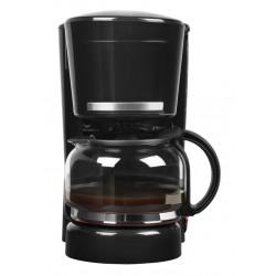 MEDION - MD 17229 Independiente Cafetera de filtro 1.25L 10tazas Negro, Acero inoxidable