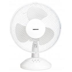 MEDION - MD 18166 Ventilador con aspas para el hogar 30W Blanco