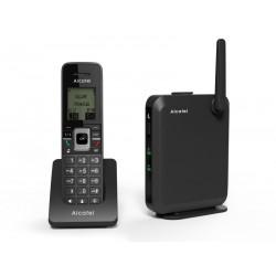 Alcatel - IP2215 teléfono IP Negro Terminal inalámbrico LCD 6 líneas