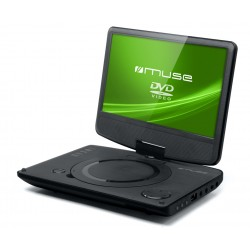 "Muse - M-970 DP Convertible 9"" Negro reproductor de dvd/bluray portátiles"