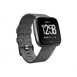 "Fitbit - Versa reloj inteligente Negro, Gris LCD 3,4 cm (1.34"") GPS (satélite)"