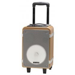 Denver Electronics - TSP-150 15W Beige, Negro, Plata, Blanco sistema de megafonía
